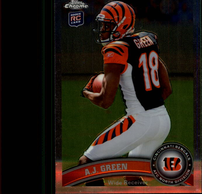 2011 Topps Chrome #150A A.J. Green RC/(running to the left)