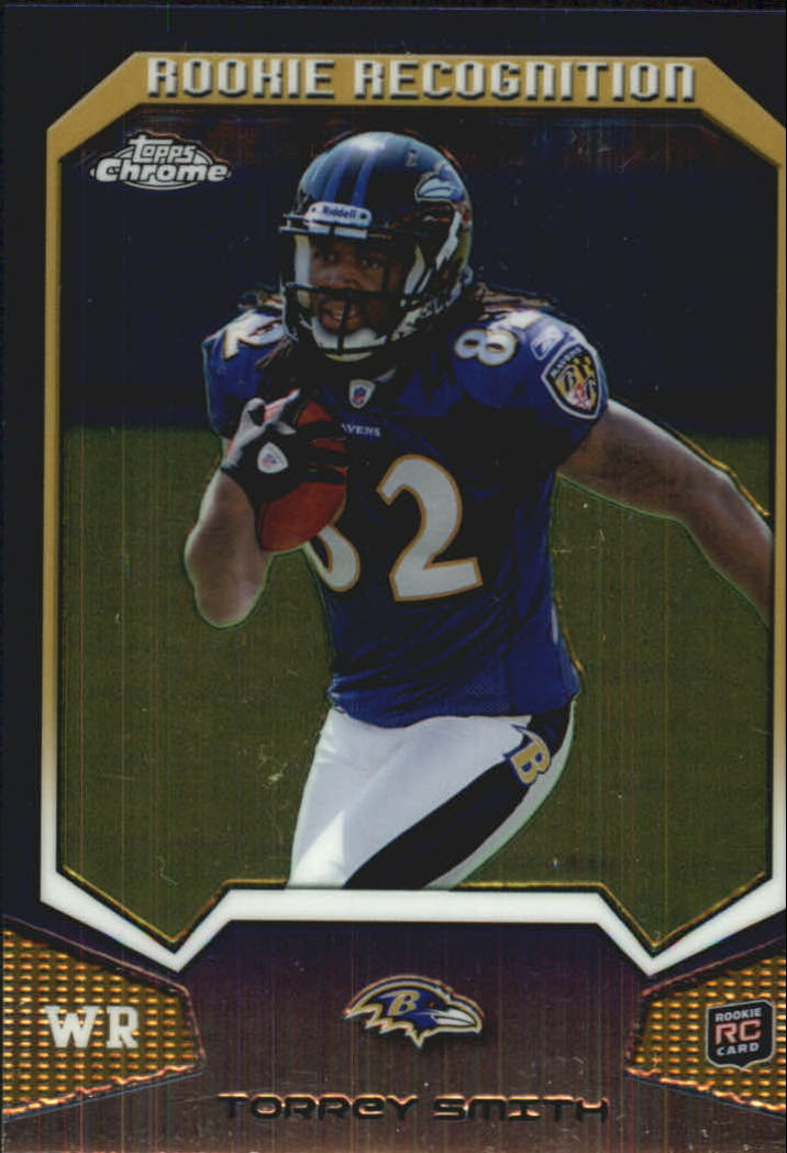 2011 Topps Chrome Rookie Recognition #RRTS Torrey Smith