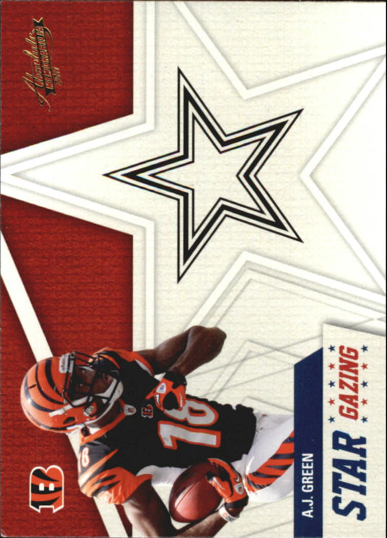 2011 Absolute Memorabilia Star Gazing #14 A.J. Green