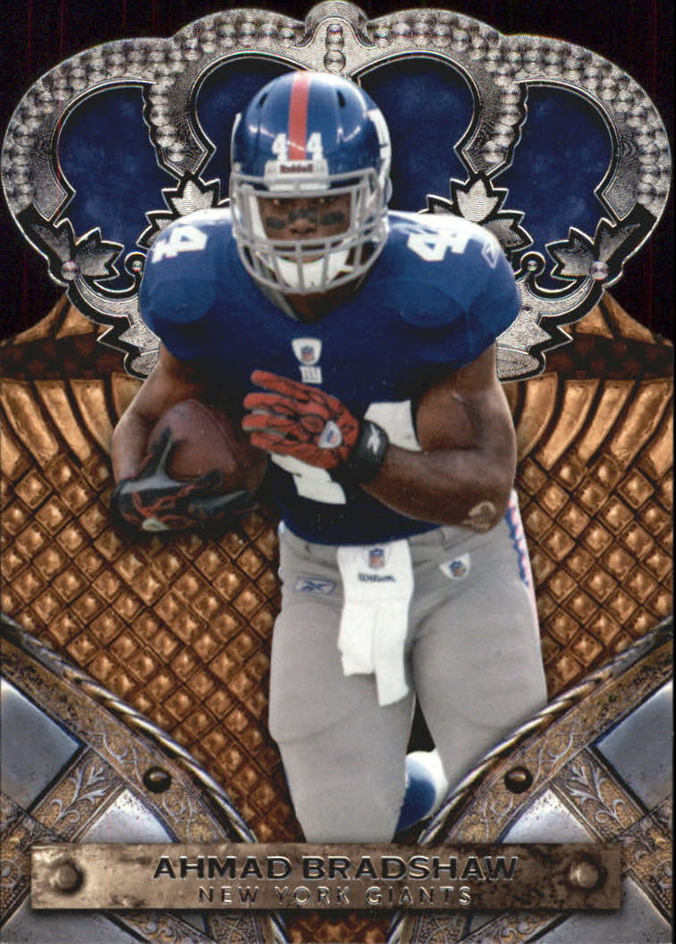 2011 Crown Royale #3 Ahmad Bradshaw