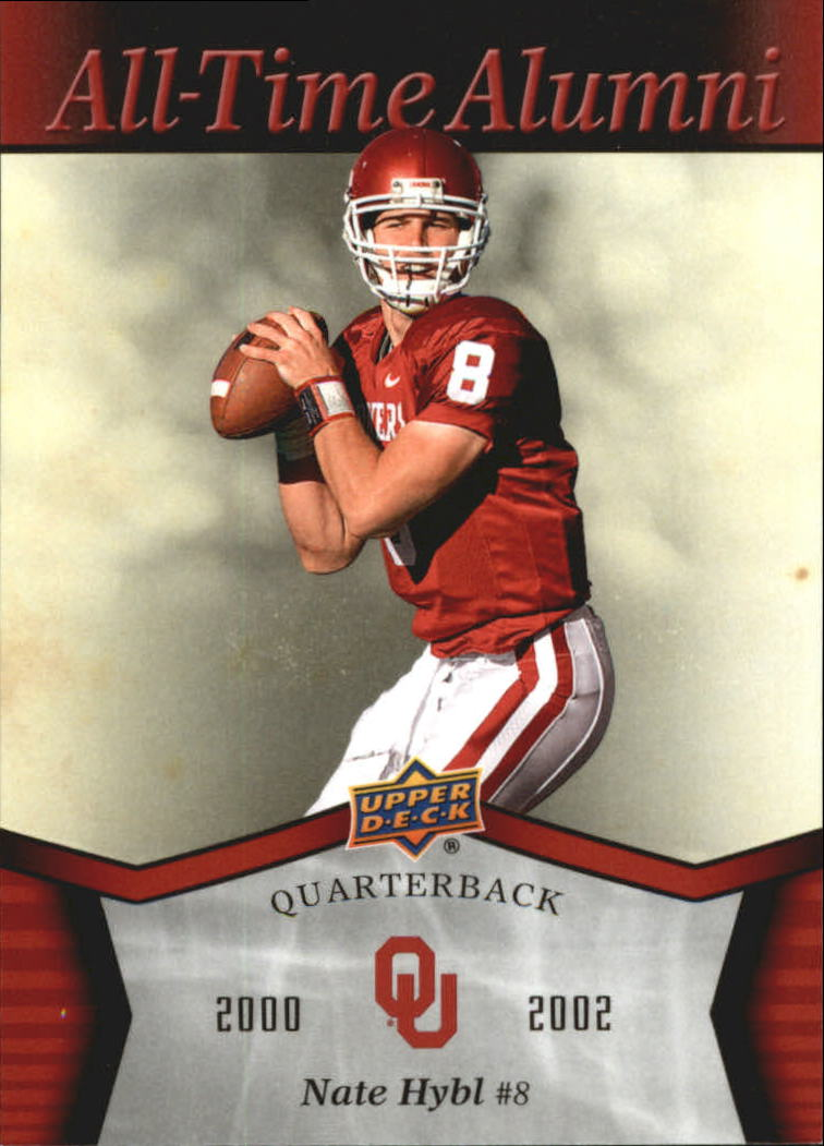 2011 Upper Deck Oklahoma All-Time Alumni #ATANH Nate Hybl
