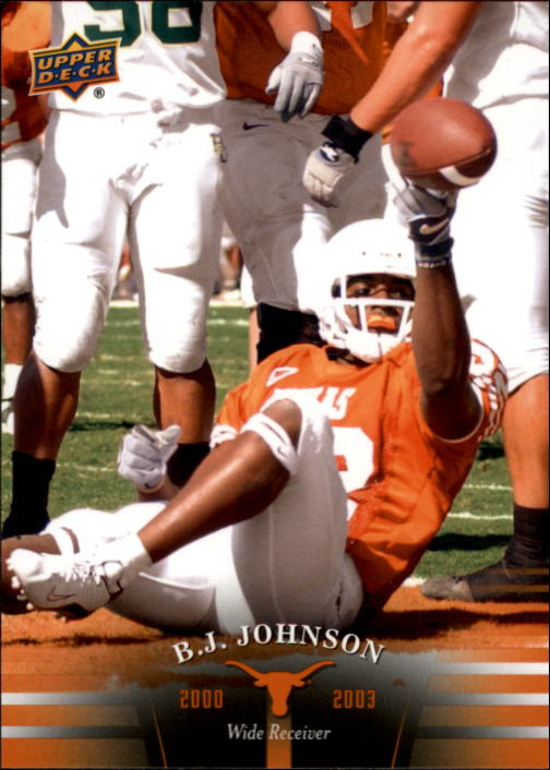 2011 Upper Deck Texas #72 B.J. Johnson