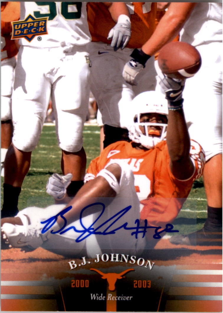 2011 Upper Deck Texas Autographs #72 B.J. Johnson