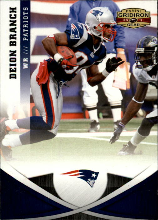 2011 Panini Gridiron Gear #1 Deion Branch