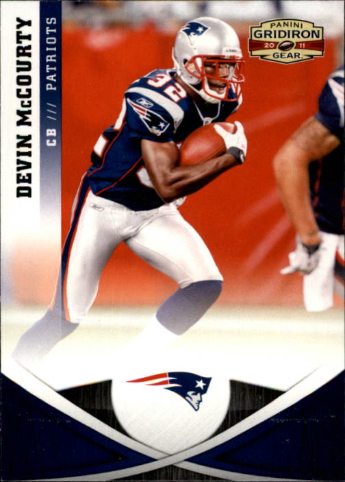 2011 Panini Gridiron Gear #2 Devin McCourty