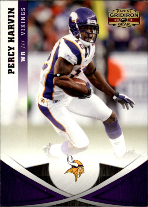 2011 Panini Gridiron Gear #105 Percy Harvin