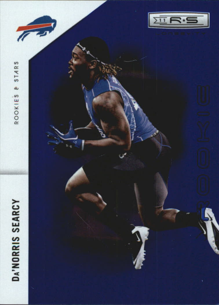 2011 Rookies and Stars Longevity Sapphire #179 Da'Norris Searcy
