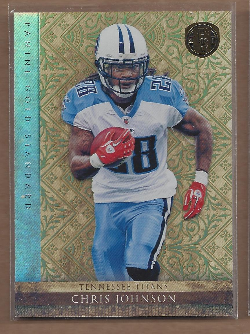 2011 Panini Gold Standard #9 Chris Johnson