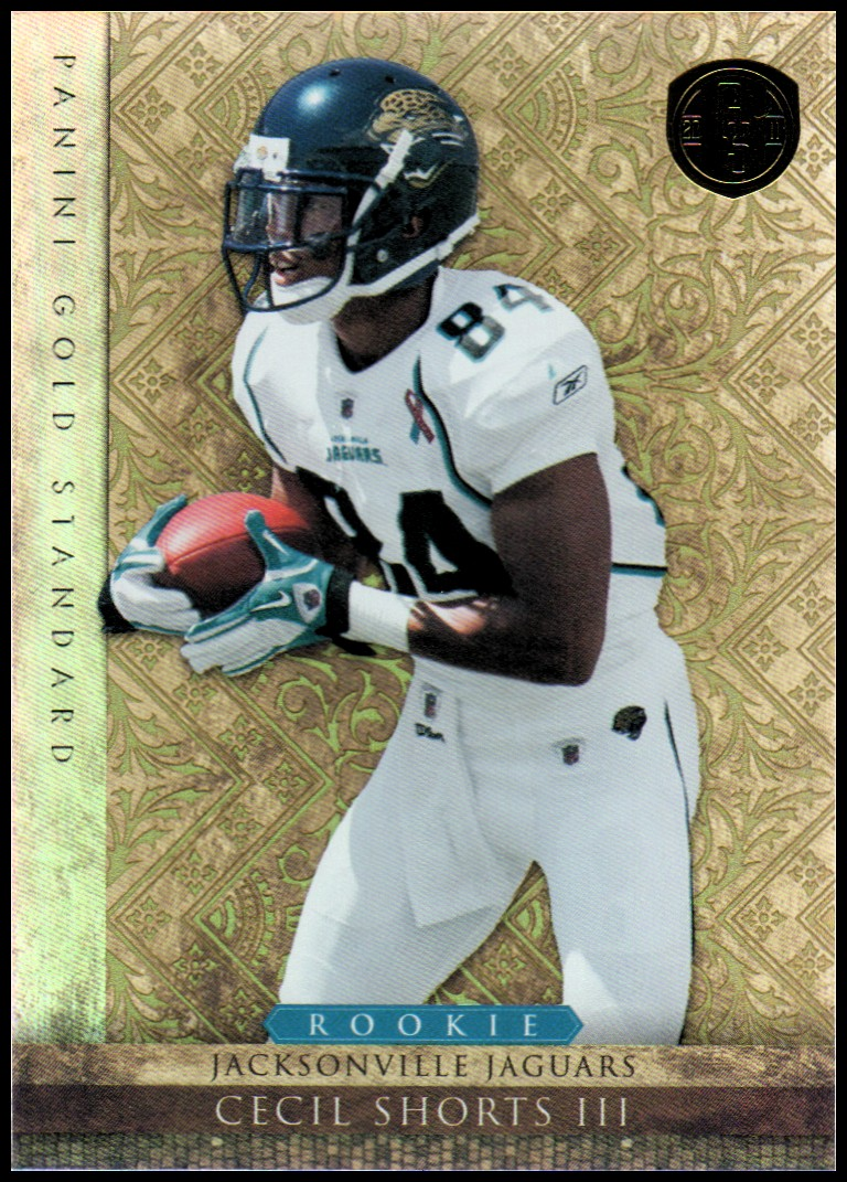 2011 Panini Gold Standard #167 Cecil Shorts RC
