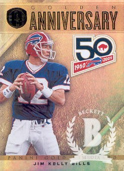 2011 Panini Gold Standard Golden Anniversary #42 Jim Kelly