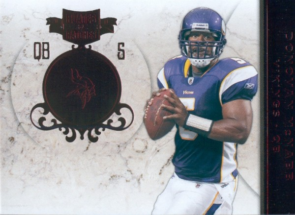 2011 Panini Plates and Patches #5 Donovan McNabb