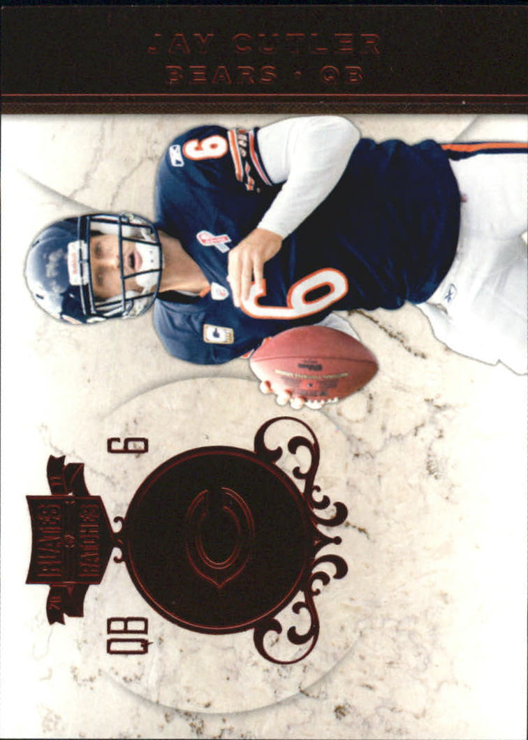 2011 Panini Plates and Patches #6 Jay Cutler
