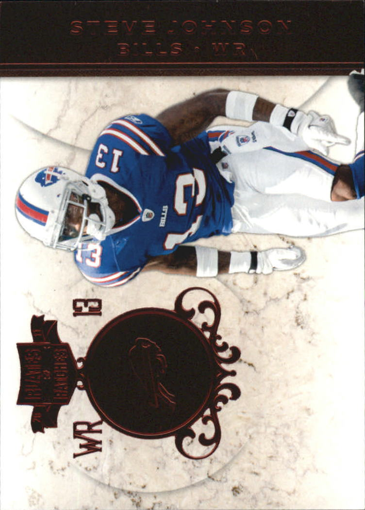 2011 Panini Plates and Patches #13 Steve Johnson