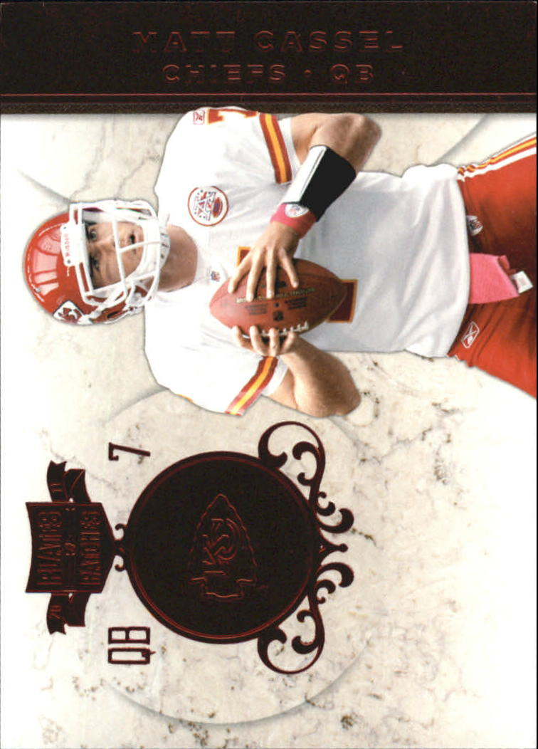 2011 Panini Plates and Patches #15 Matt Cassel