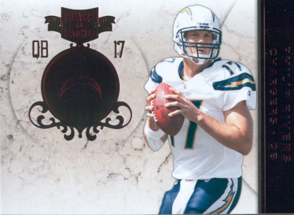 2011 Panini Plates and Patches #17 Philip Rivers