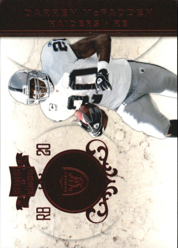 2011 Panini Plates and Patches #20 Darren McFadden