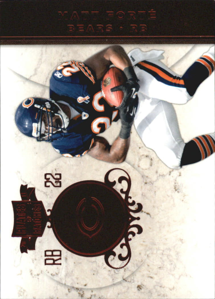 2011 Panini Plates and Patches #22 Matt Forte