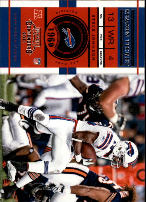 2011 Playoff Contenders #3 Steve Johnson