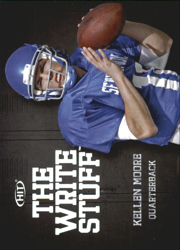 2012 SAGE HIT Write Stuff #WS7 Kellen Moore