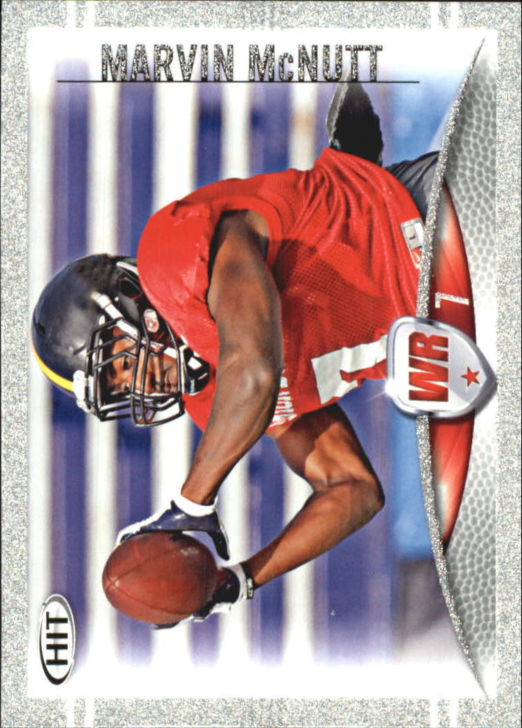 2012 SAGE HIT Silver #77 Marvin McNutt