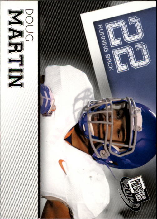 2012 Press Pass #31 Doug Martin