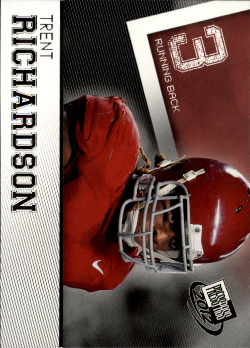 2012 Press Pass #41 Trent Richardson