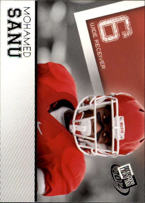 2012 Press Pass #43 Mohamed Sanu