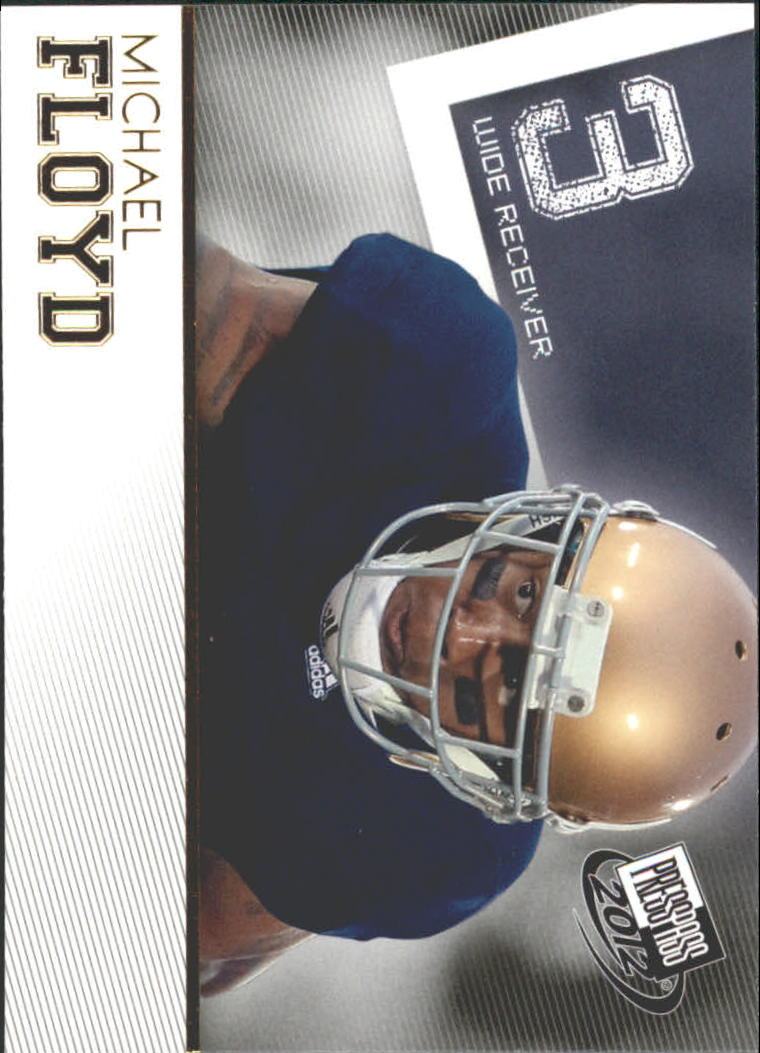 2012 Press Pass Gold #13 Michael Floyd