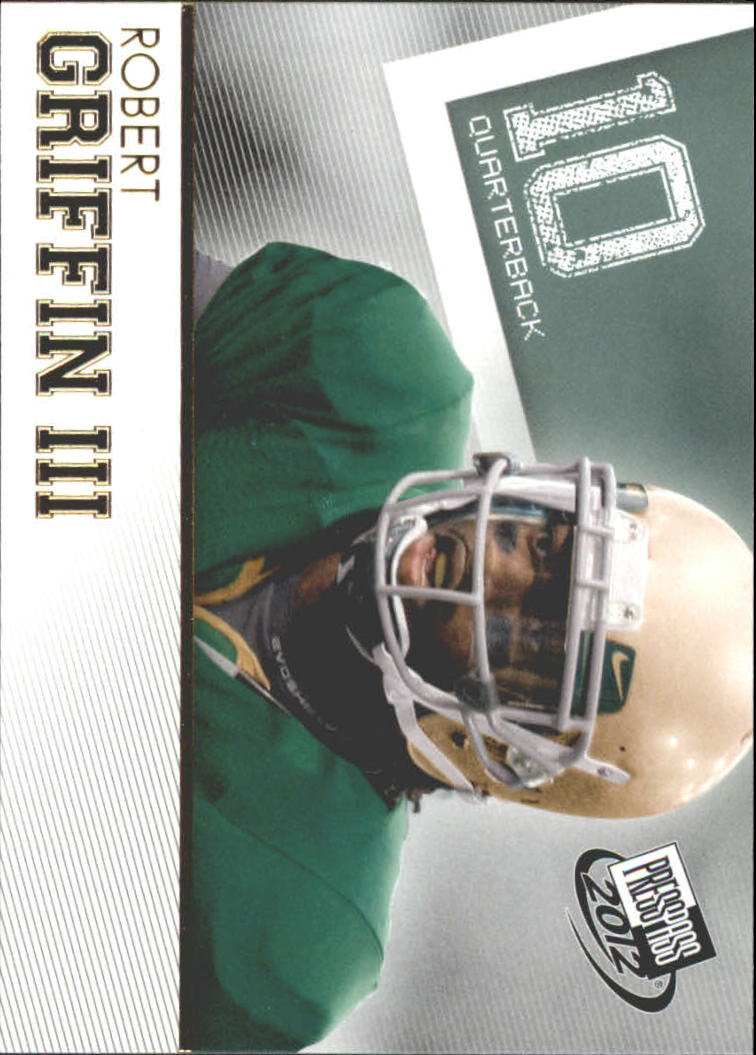 2012 Press Pass Gold #20 Robert Griffin III