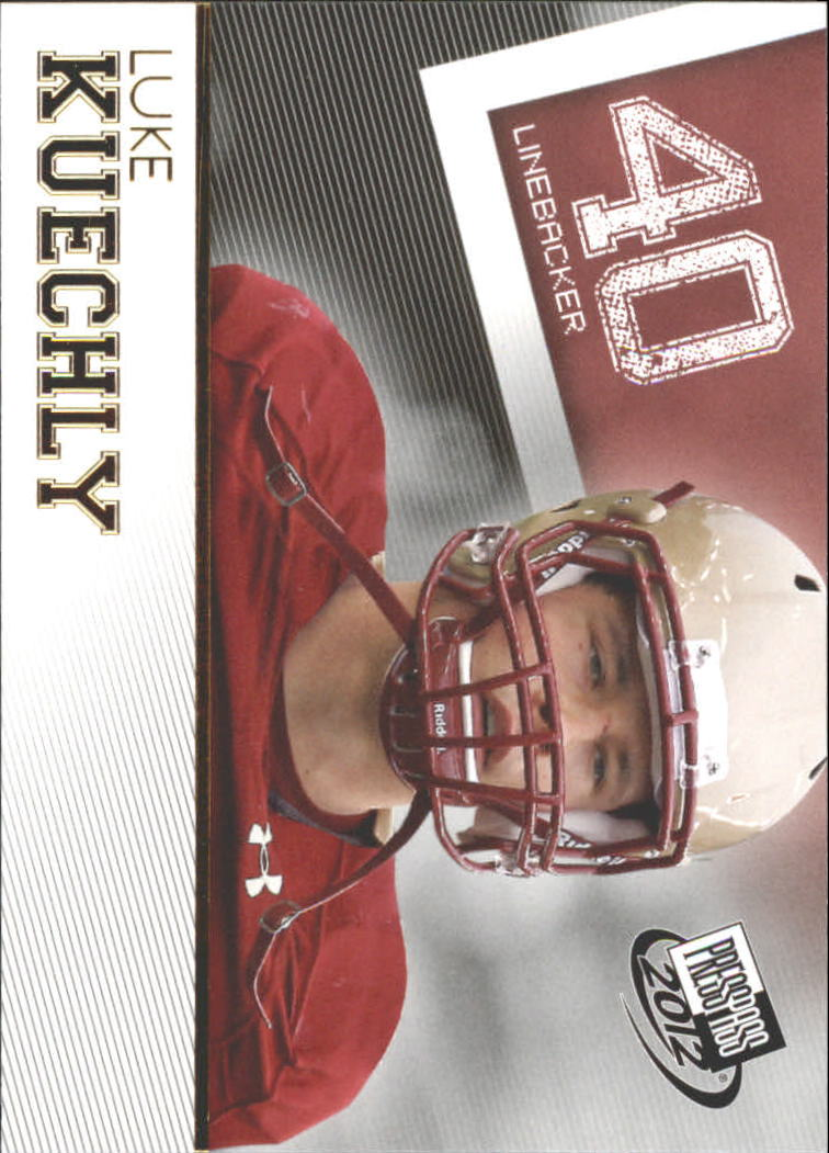 2012 Press Pass Gold #27 Luke Kuechly