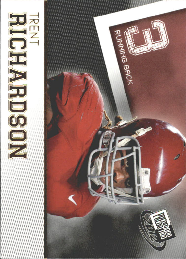 2012 Press Pass Gold #41 Trent Richardson