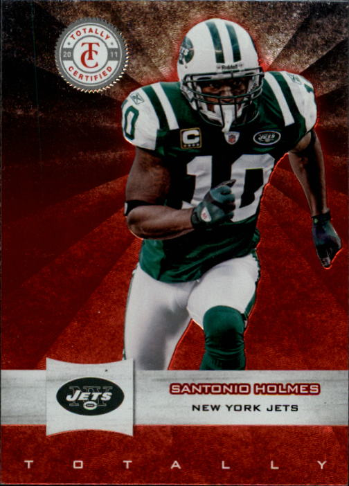 2011 Totally Certified #8 Santonio Holmes