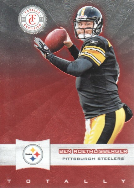 2011 Totally Certified #13 Ben Roethlisberger