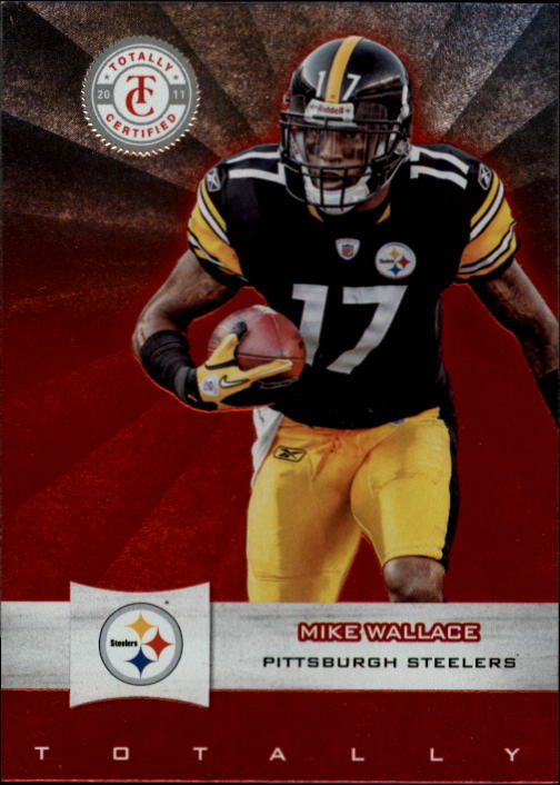 2011 Totally Certified #14 Mike Wallace