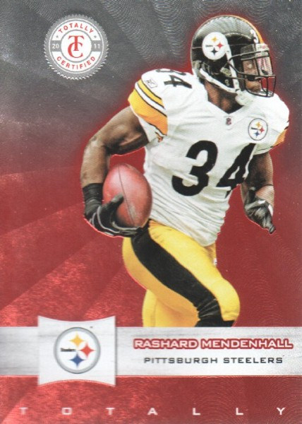 2011 Totally Certified #15 Rashard Mendenhall