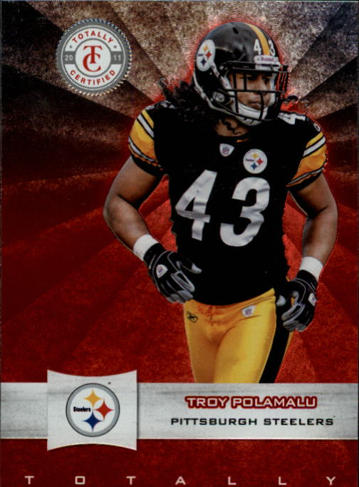 2011 Totally Certified #16 Troy Polamalu