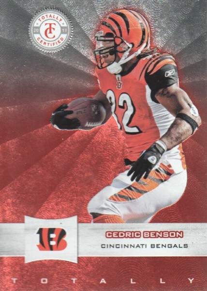 2011 Totally Certified #17 Cedric Benson