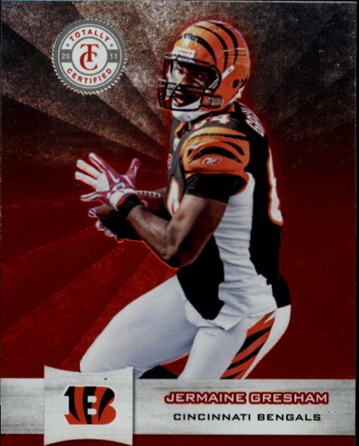 2011 Totally Certified #18 Jermaine Gresham