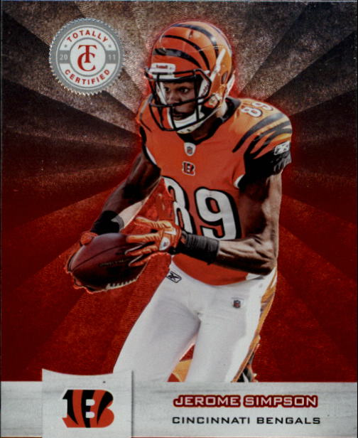 2011 Totally Certified #19 Jerome Simpson