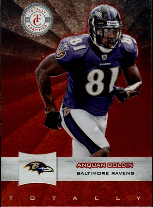 2011 Totally Certified #20 Anquan Boldin