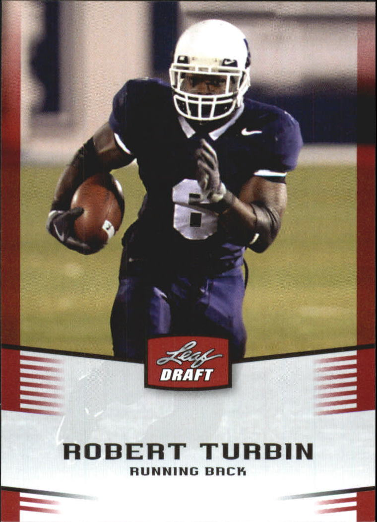 2012 Leaf Draft #41 Robert Turbin