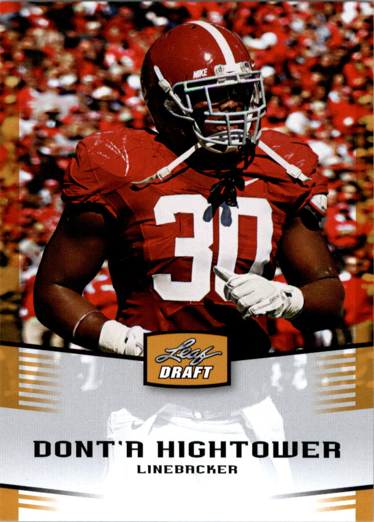 2012 Leaf Draft Gold #14 Dont'a Hightower