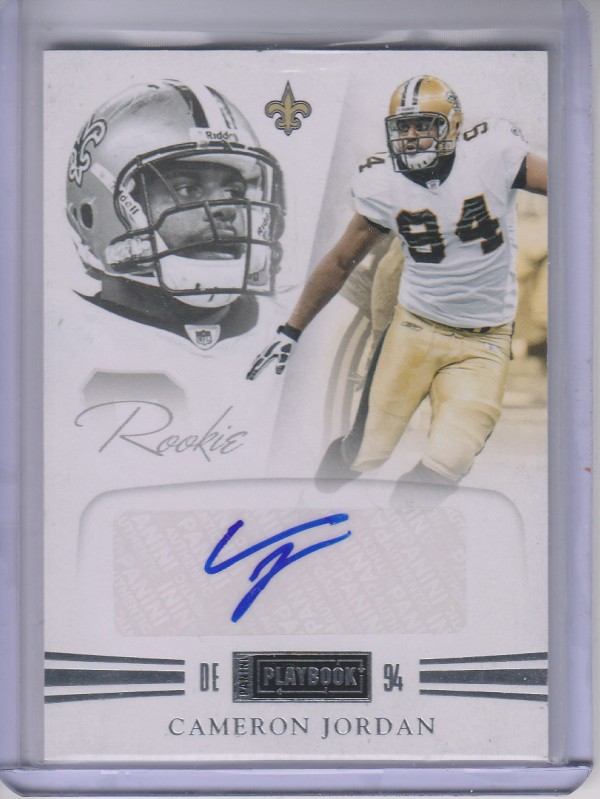 2011 Panini Playbook #58 Cameron Jordan AU/299 RC