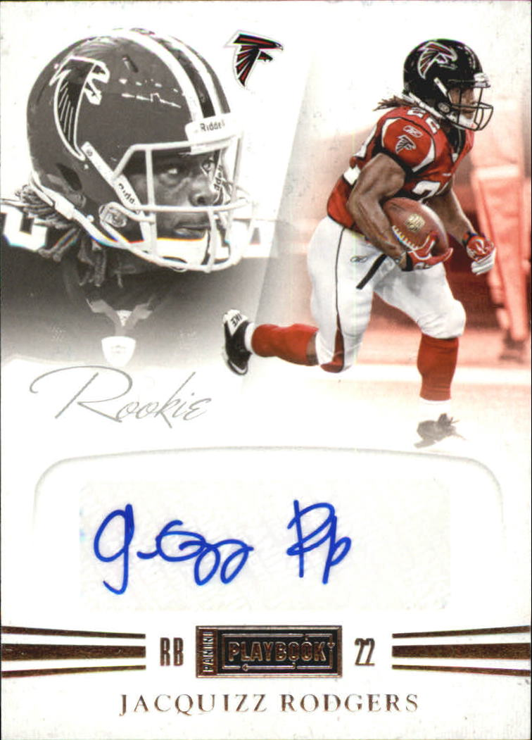 2011 Panini Playbook #69 Jacquizz Rodgers AU/299 RC