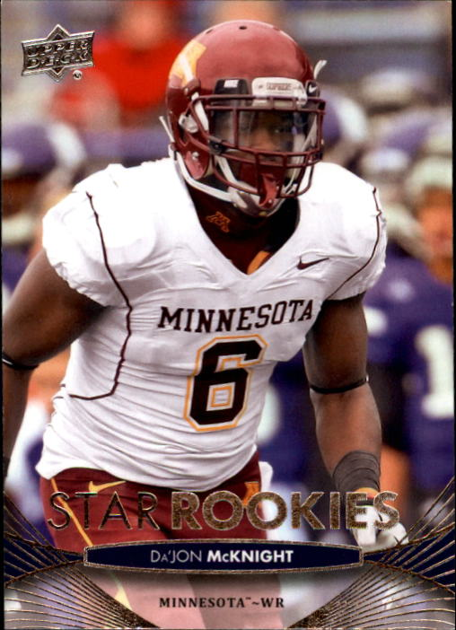 2012 Upper Deck #76 Da'Jon McKnight