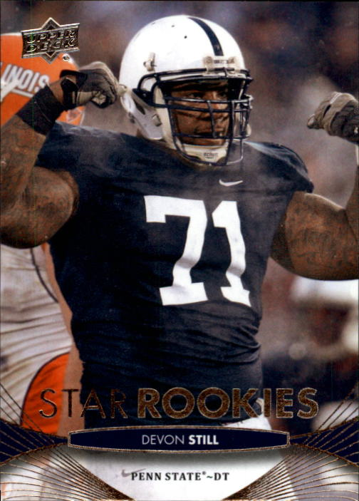 2012 Upper Deck #83 Devon Still