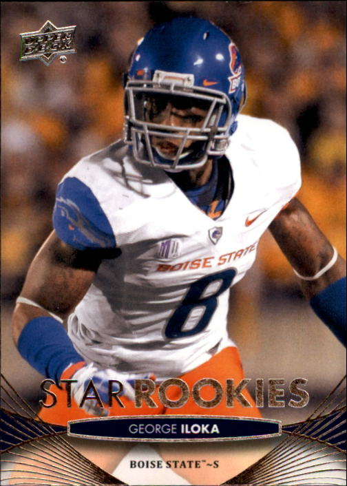 2012 Upper Deck #86 George Iloka