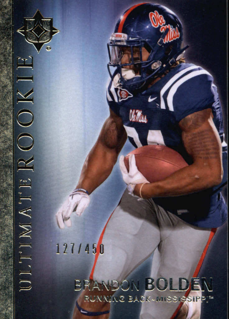 2012 Ultimate Collection #6 Brandon Bolden