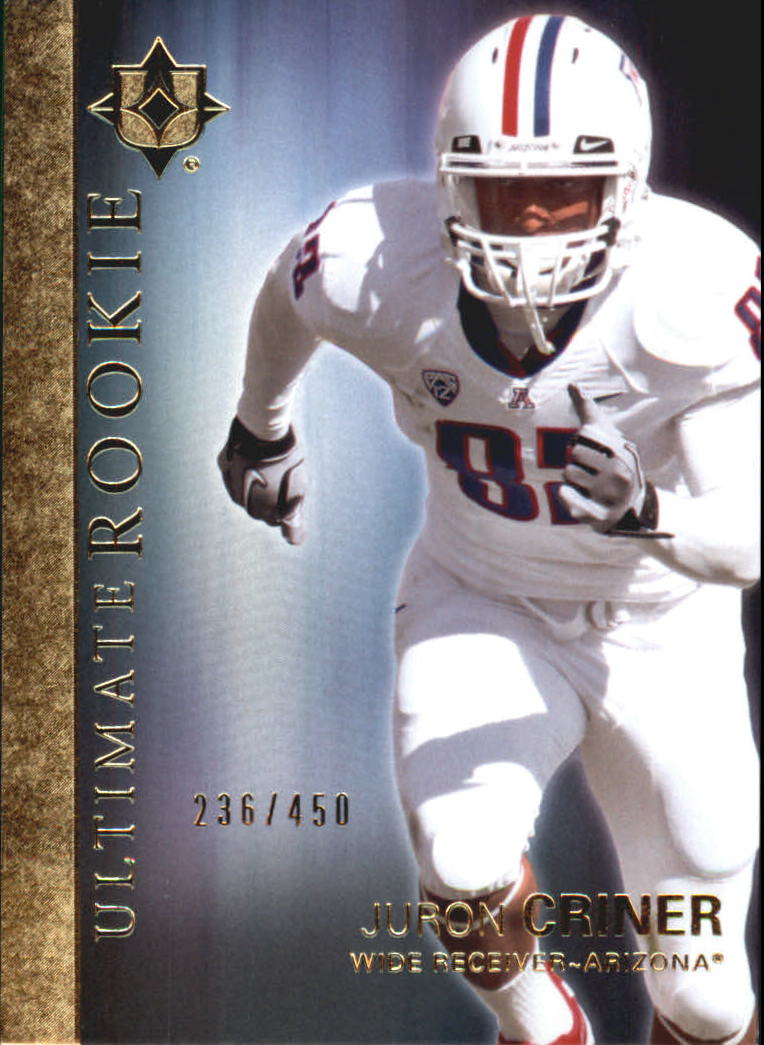 2012 Ultimate Collection #31 Juron Criner