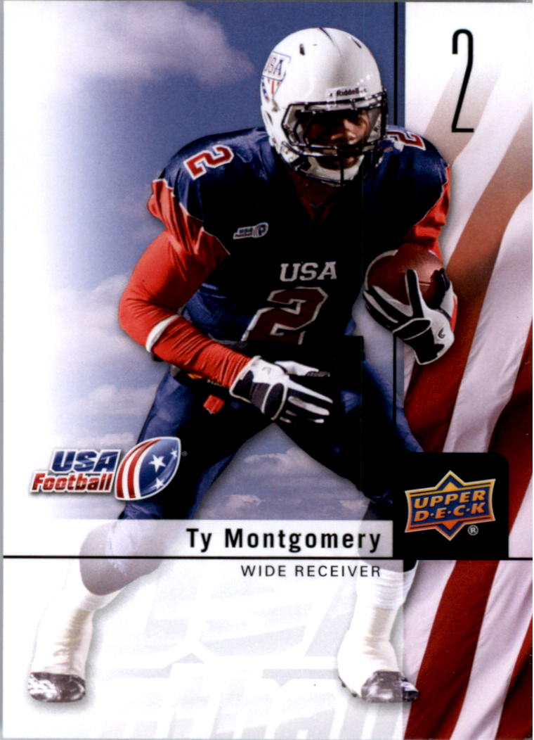 2011-12 Upper Deck USA Football #2 Ty Montgomery